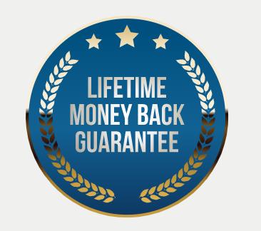 Performer8 Lifetime Money Back Guarantee