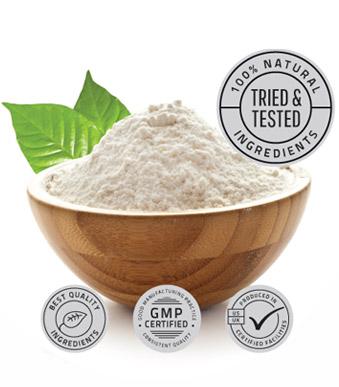 TestoFuel Natural Ingredients bowl